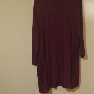❤3x Liz & Me plum purple tunic